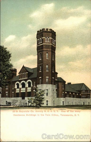 25th Separate Co. Armory, NGS NY Tonawanda New York