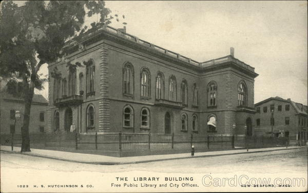 The Library Building New Bedford Massachusetts