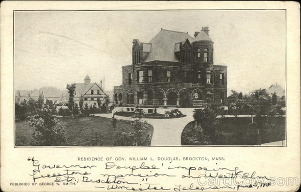 Residence of Governor William L. Douglas Brockton Massachusetts
