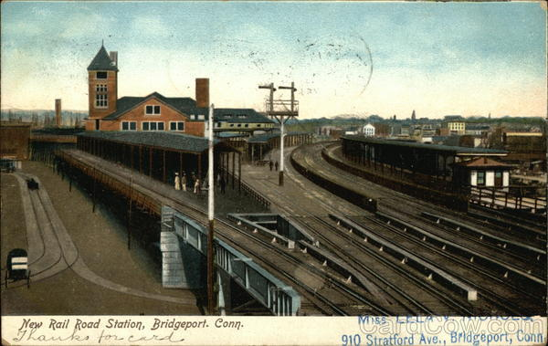 New Railroad Station Bridgeport Connecticut