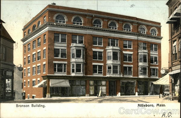 Bronson Building Attleboro Massachusetts
