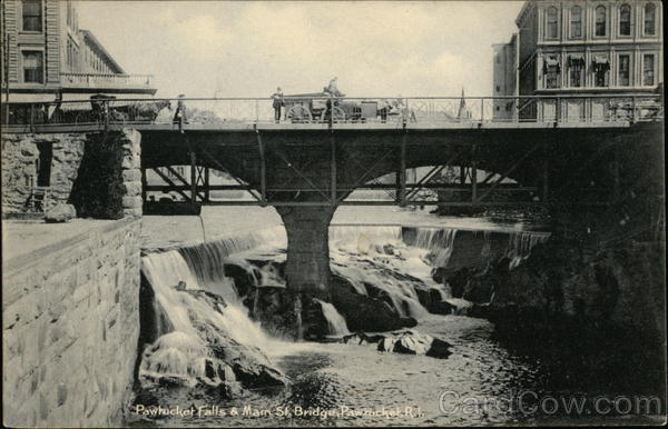 Pawtucket Falls & Main Street Bridge Rhode Island
