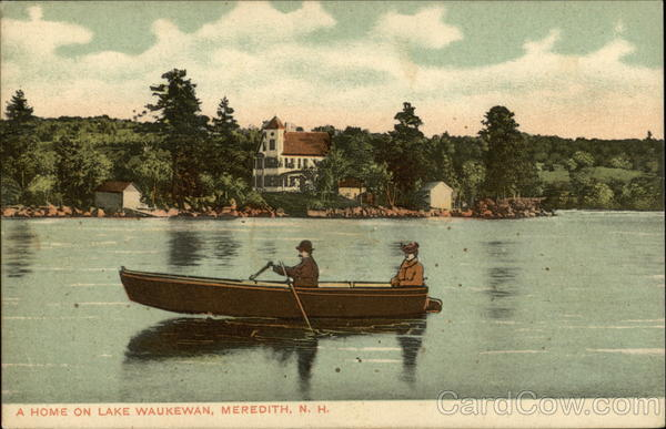Home on Lake Waukewan Meredith New Hampshire