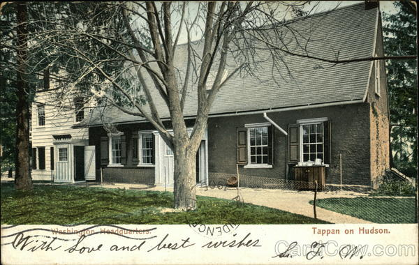 Washington Headquarters Tappan on Hudson New York