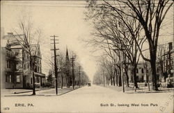Sixth Street, Looking West From Park