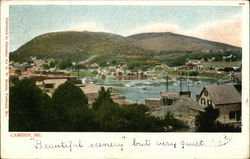 View of Camden Postcard