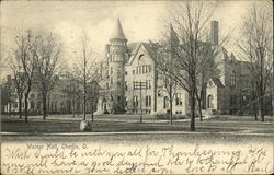 Warner Hall Postcard