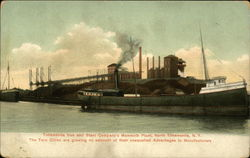 Tonawanda Iron and Steel Company's Mammoth Plant