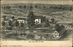Bay City in 1837