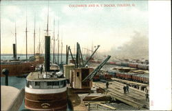 Columbus and H.V. Docks