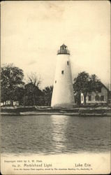 Marblehead Light, Lake Erie Postcard