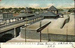 Brockton Station, NYNH & H RR