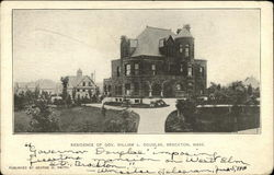 Residence of Governor William L. Douglas