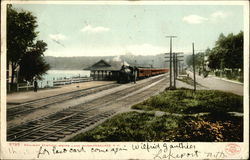 Railway Station, Weirs Lake