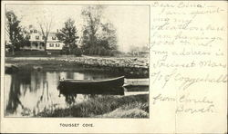 Boat and Home at Touisset Cove