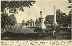 Soldier's Monument, Evergreen Cemetery
