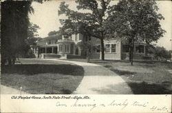 Old People's Home, South Side Street Postcard