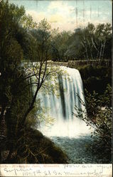 View of Minnehaha Falls