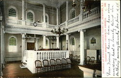 Interior of Jewish Synagogue, Touro St