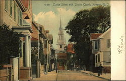 Clarke Street with Trinity Church