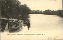 Pawtuxet River From Rhodes Boat House