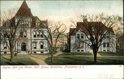 Brown University - Sayles and Wilson Halls