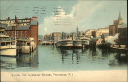 The Steamboat Wharves