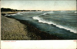View of Cobourg Beach Postcard