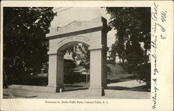 Jenks Falls Park - Entrance