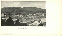 View of Town Postcard