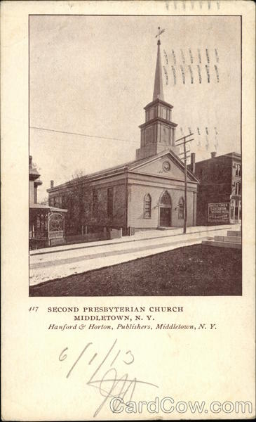 Second Presbyterian Church Middletown New York