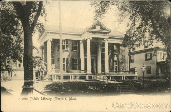 Public Library Medford Massachusetts