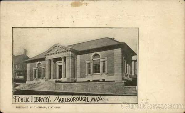 Public Library Marlborough Massachusetts