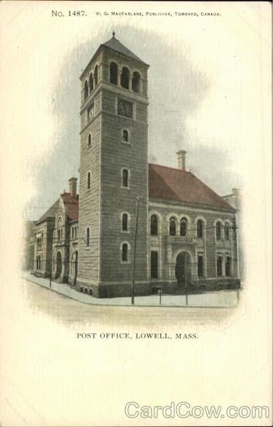 Post Office Lowell Massachusetts