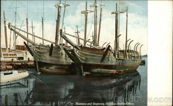 Rousseau and Desdamona, 1885 New Bedford Massachusetts