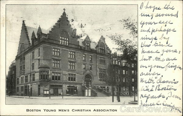 Boston Young Men's Christian Association Massachusetts