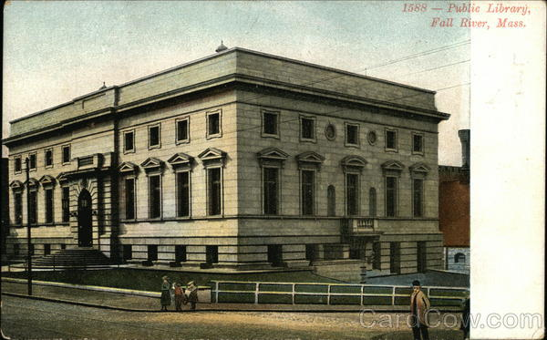 Public Library Fall River Massachusetts