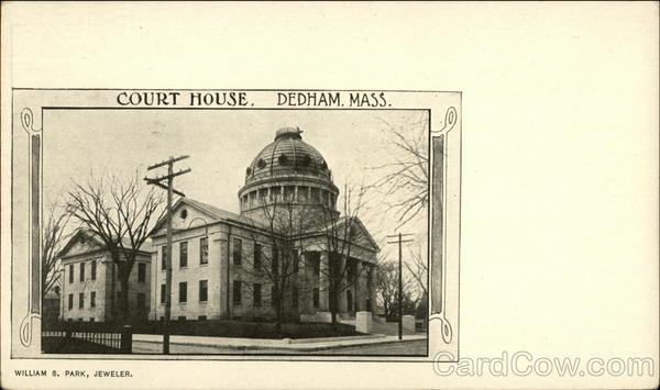 Court House Dedham Massachusetts
