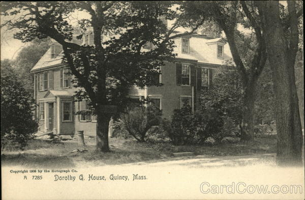 Dorothy Q. House Quincy Massachusetts