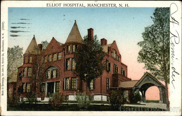 Elliot Hospital Manchester New Hampshire Copper Windows