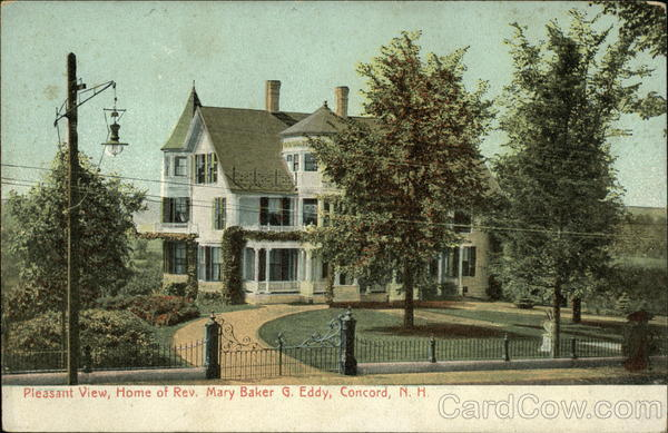 Pleasant View, Home of Rev. Mary Baker G. Eddy Concord New Hampshire