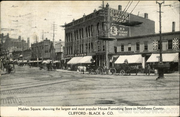 Clifford-Black & Co. Malden Square Massachusetts