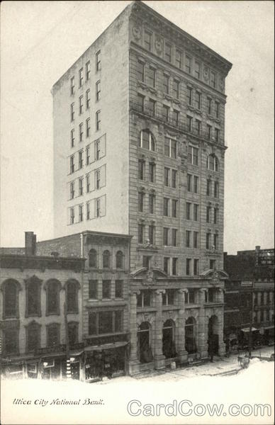 Utica City National Bank New York
