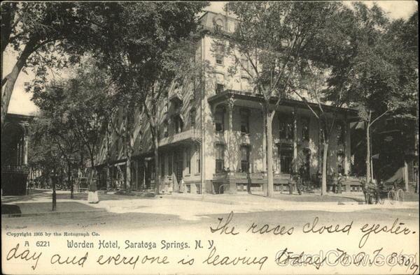 Worden hotel saratoga springs ny for Saratoga springs hotels ny