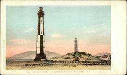 Old (Built 1789) and New Light Houses