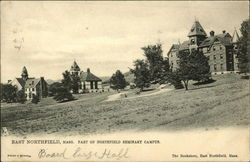 Northfield Seminary Campus Postcard