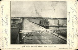 The New Bridge From New Bedford