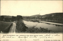 Connecticut River Below Seminary Campus Postcard