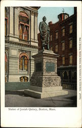 Statue of Josiah Quincy