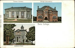 Bates College, Coram Library, Hedge Laboratory, Hathorn Hall